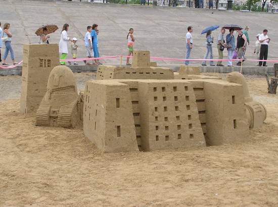 Фестиваль песчаной скульптуры 2004 год, Оболонь (фото из архива, часть 3) - Festival-peschanoj-skulptury-2004Obolon3_26