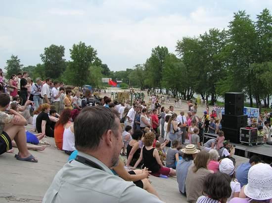 Фестиваль песчаной скульптуры 2004 год, Оболонь (фото из архива, часть 3) - Festival-peschanoj-skulptury-2004Obolon3_3