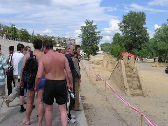 Фестиваль песчаной скульптуры 2004 год, Оболонь (фото из архива, часть 3) - Festival-peschanoj-skulptury-2004Obolon3_34