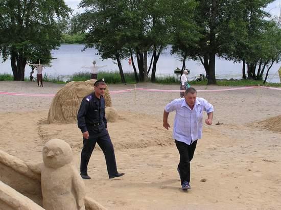 Фестиваль песчаной скульптуры 2004 год, Оболонь (фото из архива, часть 3) - Festival-peschanoj-skulptury-2004Obolon3_36