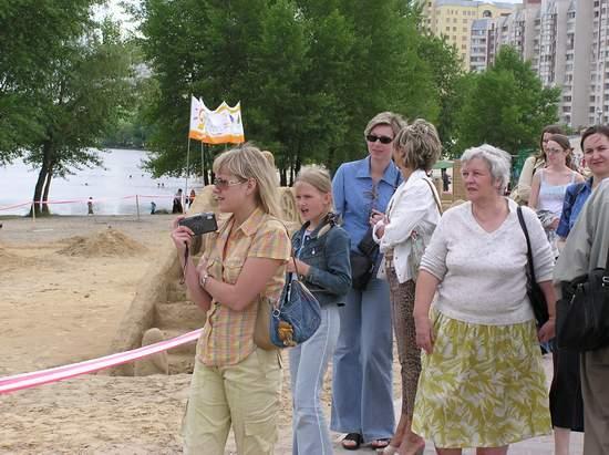Фестиваль песчаной скульптуры 2004 год, Оболонь (фото из архива, часть 3) - Festival-peschanoj-skulptury-2004Obolon3_38