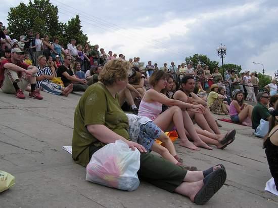 Фестиваль песчаной скульптуры 2004 год, Оболонь (фото из архива, часть 3) - Festival-peschanoj-skulptury-2004Obolon3_4
