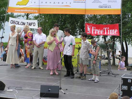 Фестиваль песчаной скульптуры 2004 год, Оболонь (фото из архива, часть 3) - Festival-peschanoj-skulptury-2004Obolon3_7