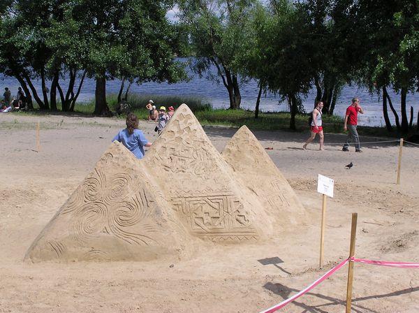 Фестиваль песчаной скульптуры 2005 год, Оболонь (23 фото из архива) - Festival-peschanoj-skulptury-2005-Obolon_13