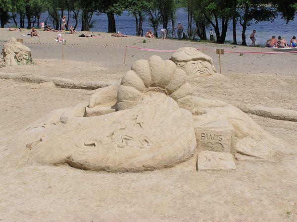 Фестиваль песчаной скульптуры 2005 год, Оболонь (23 фото из архива) - Festival-peschanoj-skulptury-2005-Obolon_16