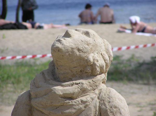 Фестиваль песчаной скульптуры 2005 год, Оболонь (23 фото из архива) - Festival-peschanoj-skulptury-2005-Obolon_22