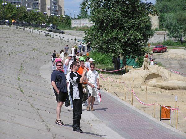 Фестиваль песчаной скульптуры 2005 год, Оболонь (23 фото из архива) - Festival-peschanoj-skulptury-2005-Obolon_6