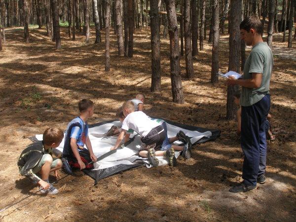 """Лучший отдых для детей - спортивно-туристический палаточный лагерь """"STALKER"""" (фото) - Luchshij-otdyh-dlja-detej-lager-STALKER_9"""