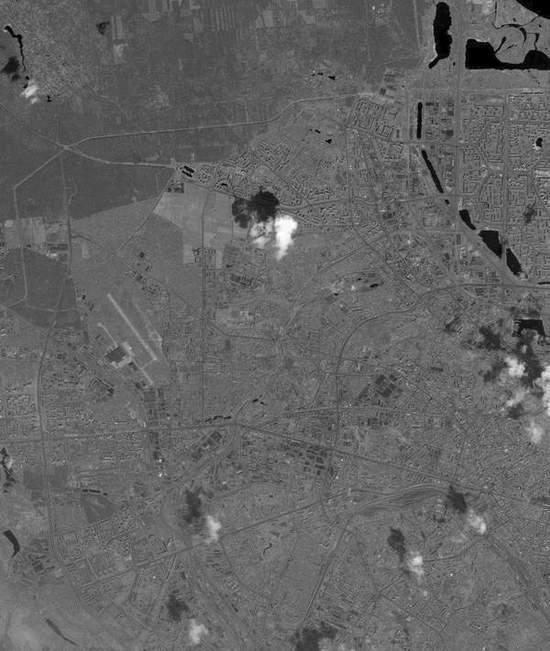 Вид на Оболонь из космоса (5 фото) - Vid-na-Obolon-iz-kosmosa_2