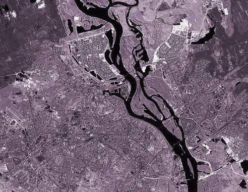 Вид на Оболонь из космоса (5 фото) - Vid-na-Obolon-iz-kosmosa_3