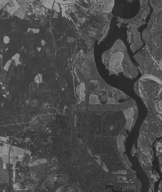 Вид на Оболонь из космоса (5 фото) - Vid-na-Obolon-iz-kosmosa_5