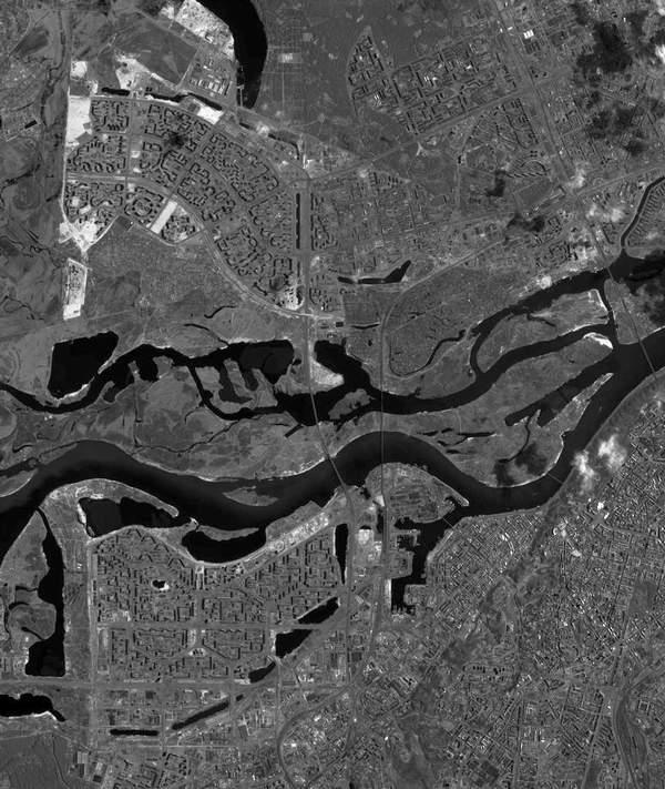 Вид на Оболонь из космоса (5 фото) - Vid-na-Obolon-iz-kosmosa_6