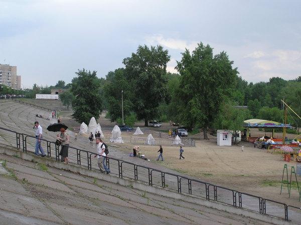 Выставка песчаной скульптуры на Оболони, 2009 год - Vystavka-peschanoj-skulptury-na-Oboloni_1