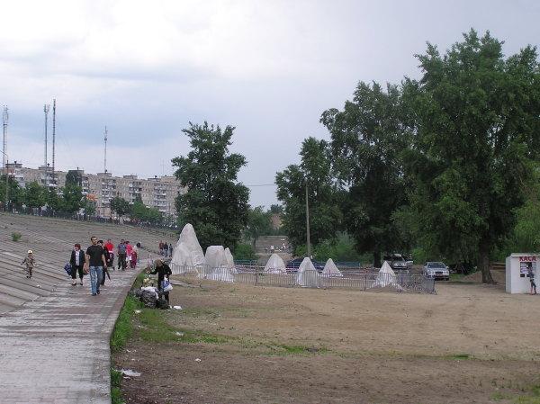 Выставка песчаной скульптуры на Оболони, 2009 год - Vystavka-peschanoj-skulptury-na-Oboloni_3