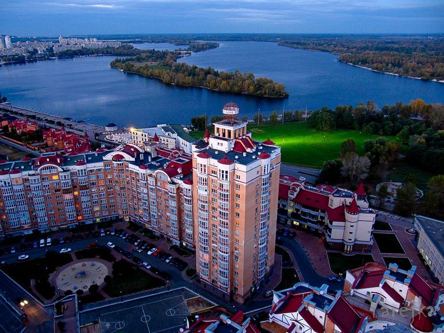 История и новости Оболони Красивая Оболонь, вид с крыши дома (10 фото)