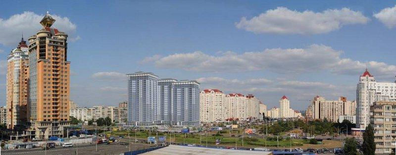 """Новый жилищный комплекс """"Оболонь"""" (7 фото) - novyj-zhilischnyj-kompleks-obolon-7-foto_3"""
