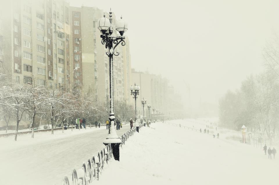 Оболонская набережная зимой (2 фото) - obolonskaja-naberezhnaja-zimoj-2-foto_1