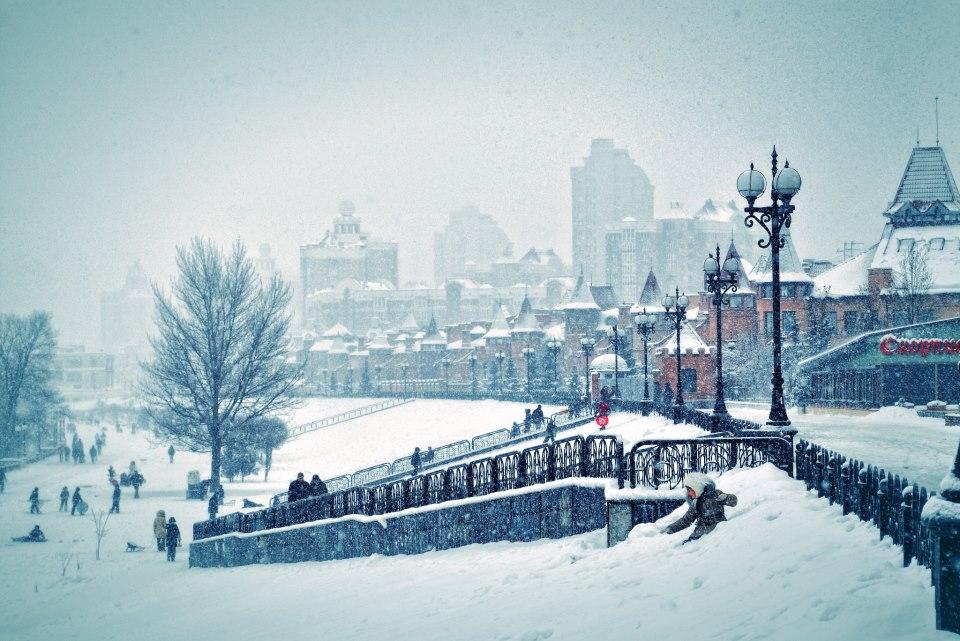 Оболонская набережная зимой (2 фото) - obolonskaja-naberezhnaja-zimoj-2-foto_2