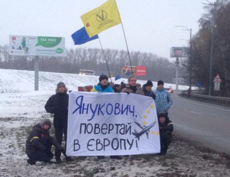 Пикет дороги на аэропорт «Борисполь» или как остановить президента - piket-dorogi-na-aeroport-borispol-ili-kak-ostanovit-prezidenta_1