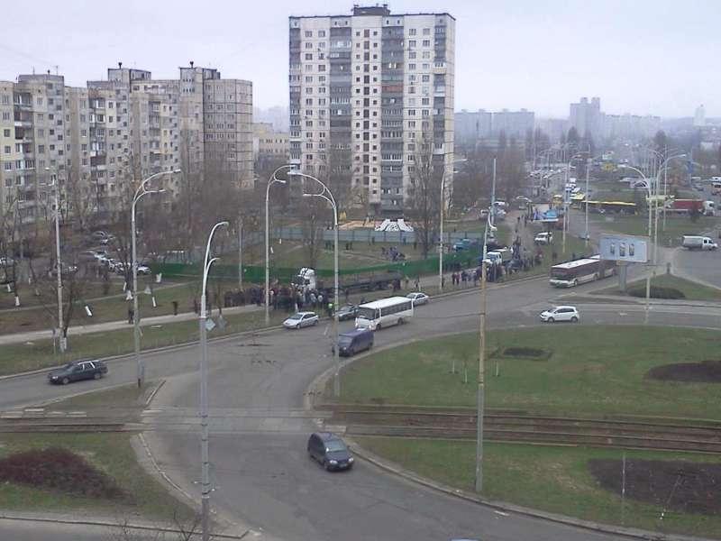 Сегодня, с утра, на пересечении улиц  Зои Гайдай и Героев Днепра (фото) - segodnja-s-utra-na-peresechenii-ulits-zoi-gajdaj-i-geroev-dnepra-foto_1