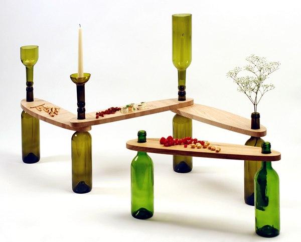 Украшаем дизайн интерьера стеклянной тарой (5 фото) - ukrashaem-dizajn-interera-stekljannoj-taroj-5-foto_1