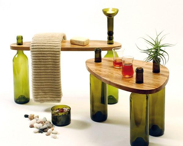 Украшаем дизайн интерьера стеклянной тарой (5 фото) - ukrashaem-dizajn-interera-stekljannoj-taroj-5-foto_4