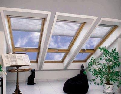 История и новости Оболони Правильные окна для мансарды