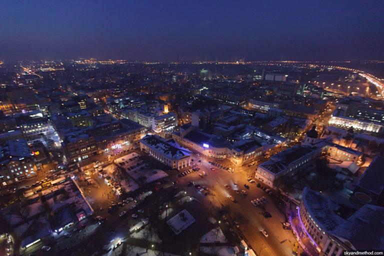 История и новости Оболони Зимний Киев с высоты птичьего полета Киевские новости