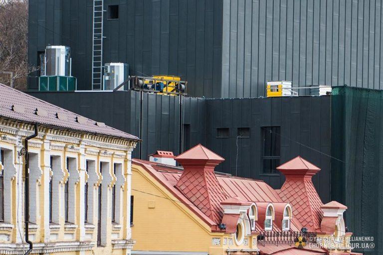 История и новости Оболони Обновленный фасад театра на Подоле Киевские новости
