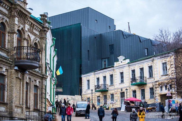 Обновленный фасад театра на Подоле - 15267741_915259938609110_5219622223715459535_n-768x512