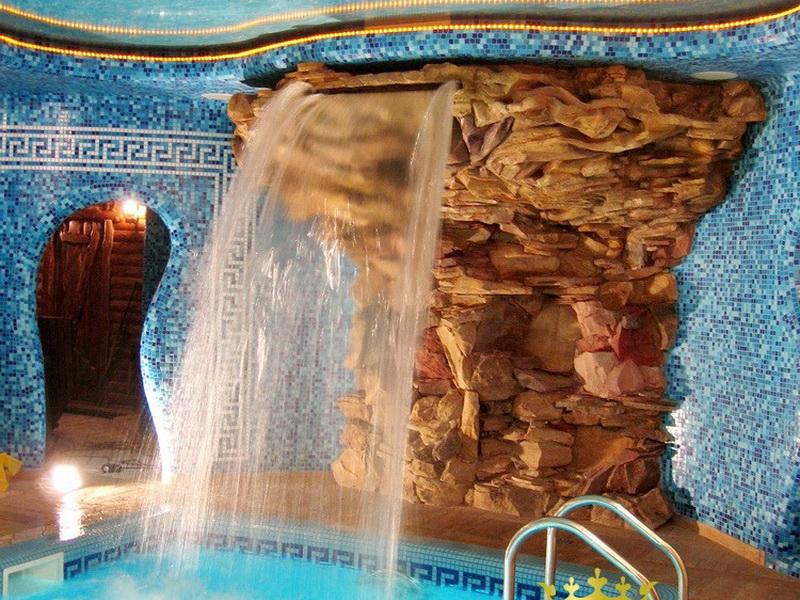 Декоративные скалы — красиво и эстетично - decorativnii-kamen-sauna