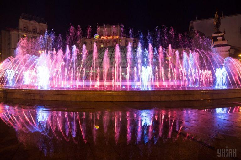 Светомузыкальные фонтаны: столица встречает гостей Евровидения - 1493803036-7534-768x511