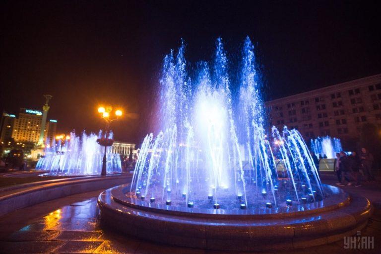Светомузыкальные фонтаны: столица встречает гостей Евровидения - 1493803036-8345-768x511