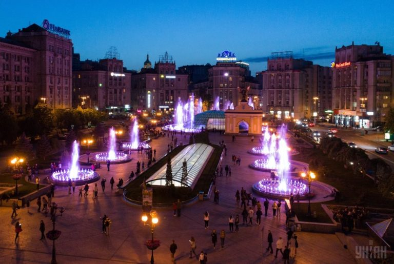Светомузыкальные фонтаны: столица встречает гостей Евровидения - 1493803043-5505-768x515