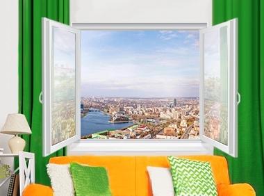 Стандартное решение замены домашнего окна - c_380x282_okno-standart