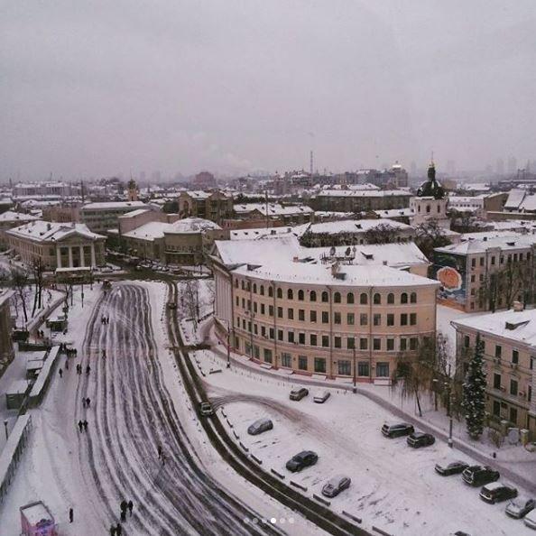 Морозные фото заснеженной столицы - 817025_main