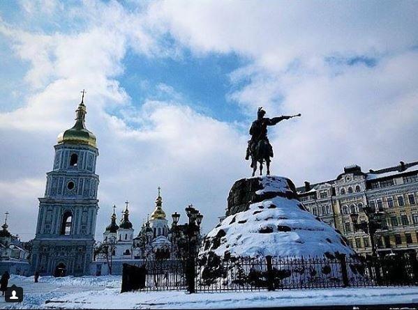Морозные фото заснеженной столицы - 817026_main