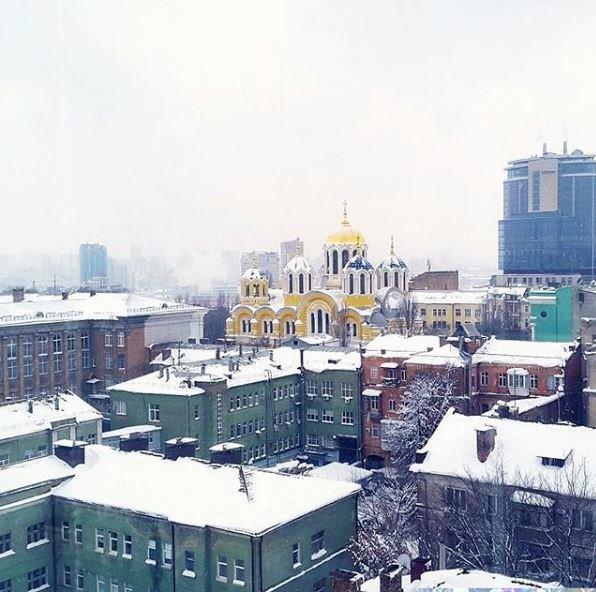 Морозные фото заснеженной столицы - 817027_main