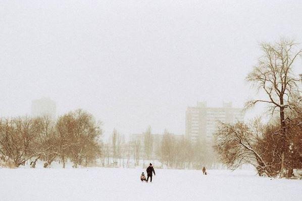 Морозные фото заснеженной столицы - 817034_main