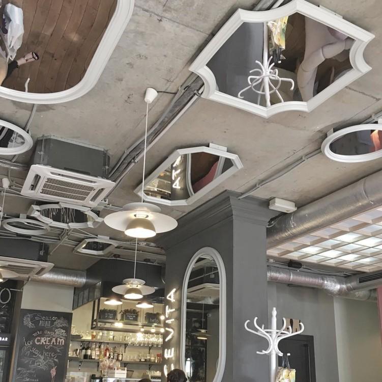 Инстаграмное место: Tiramisu bar на Оболонской набережной - 594512e89c937