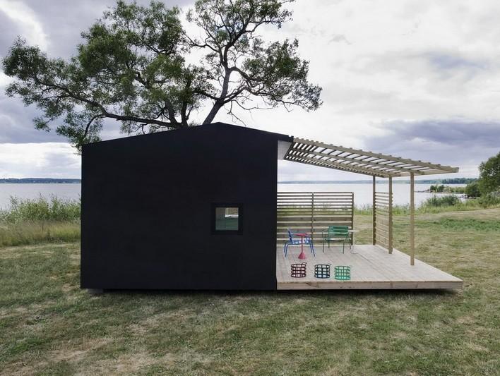 3 типа модульных садовых домиков, которые вы можете заказать у специалистов компании «БлокМодуль» - dach_domik_99